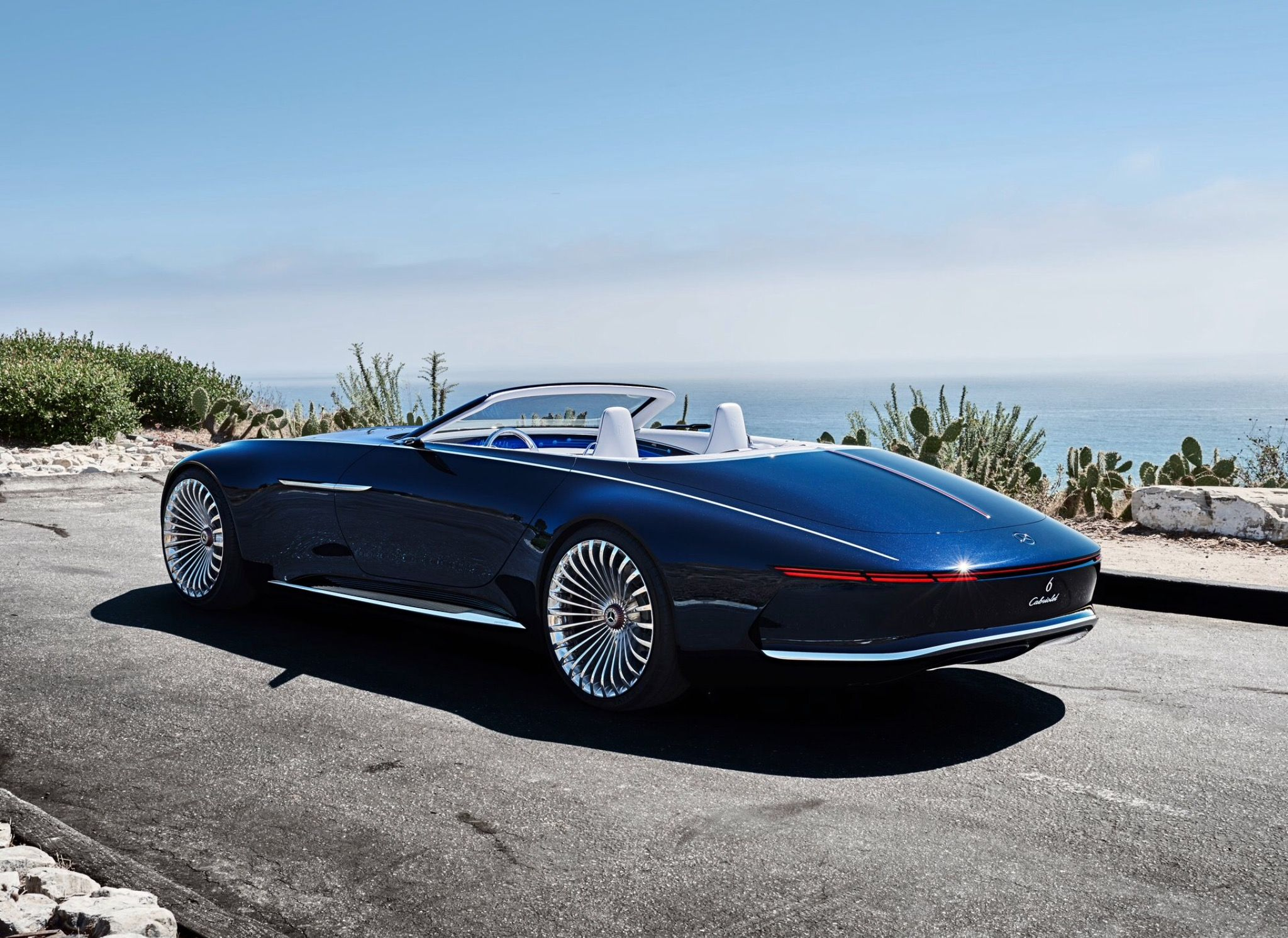 Vision Mercedes-Maybach 6 Cabriolet | The guy who invented the 1st ...