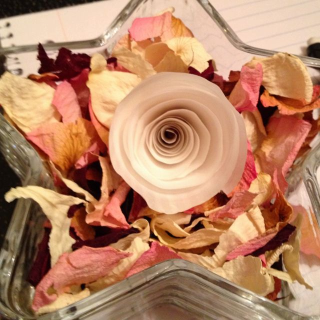 Potpourri Fai Da Te.Homemade Potpourri I Used Shredded Dead Flower Petals And