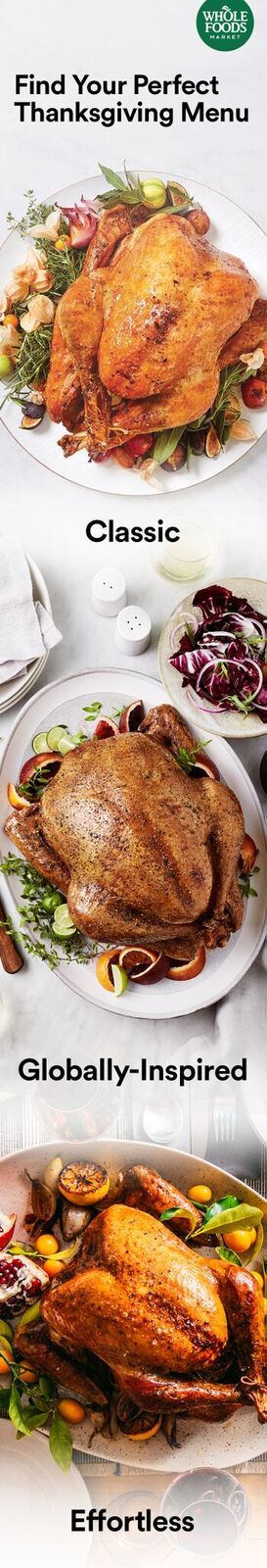 What's Your Style? Find Your Perfect Menu Thanksgiving