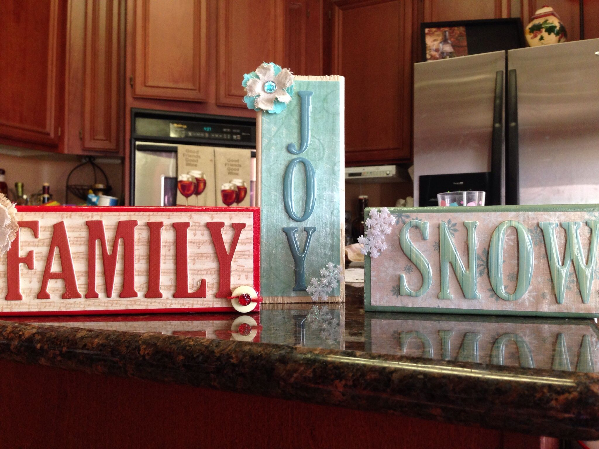 Wood block craft diy projects pinterest