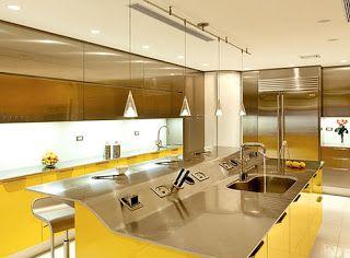 Designismos: Cozinha Amarela