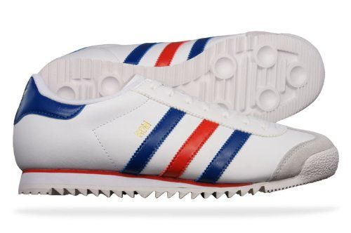 watch d4cb5 6be98 Amazon.com Adidas Originals Rom Mens Leather sneakers  Shoes - White  Shoes