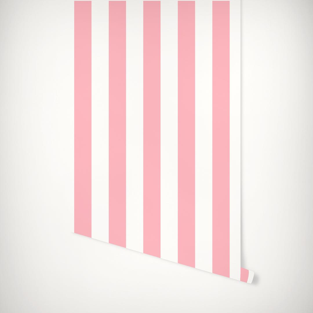 3 In Stripes Wallpaper Striped Wallpaper Katie Kime Wallpaper Wall Paint Designs