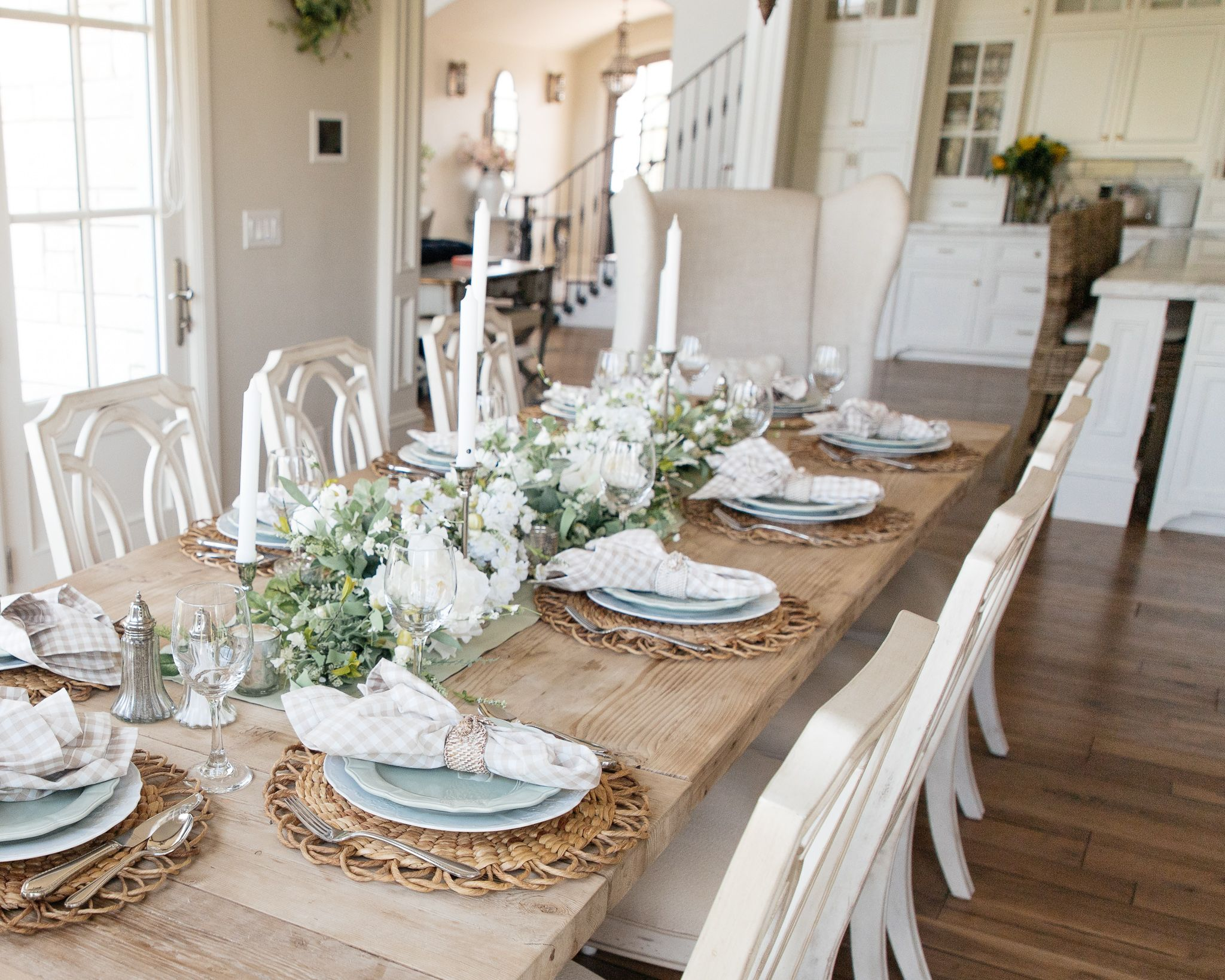 Sage Green And White Fall Transitional Tablescape Beautiful Thanksgiving Table Settings Thanksgiving Table Settings Elegant Beautiful Table Settings