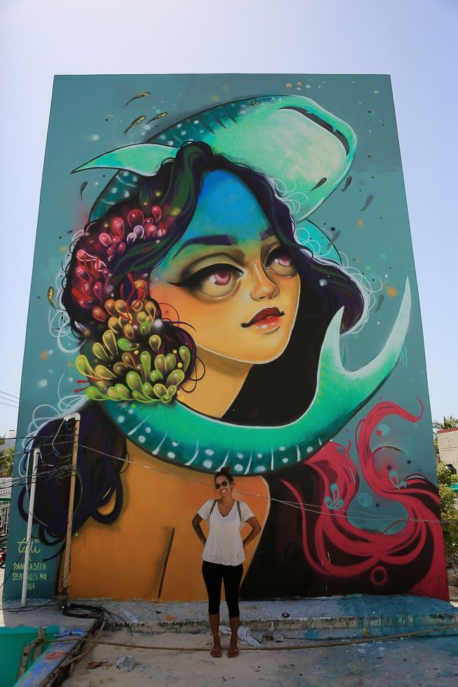 Curiot, Nosego, Tristan Eaton & More For PangeaSeed - Isla Mujeres, Mexico