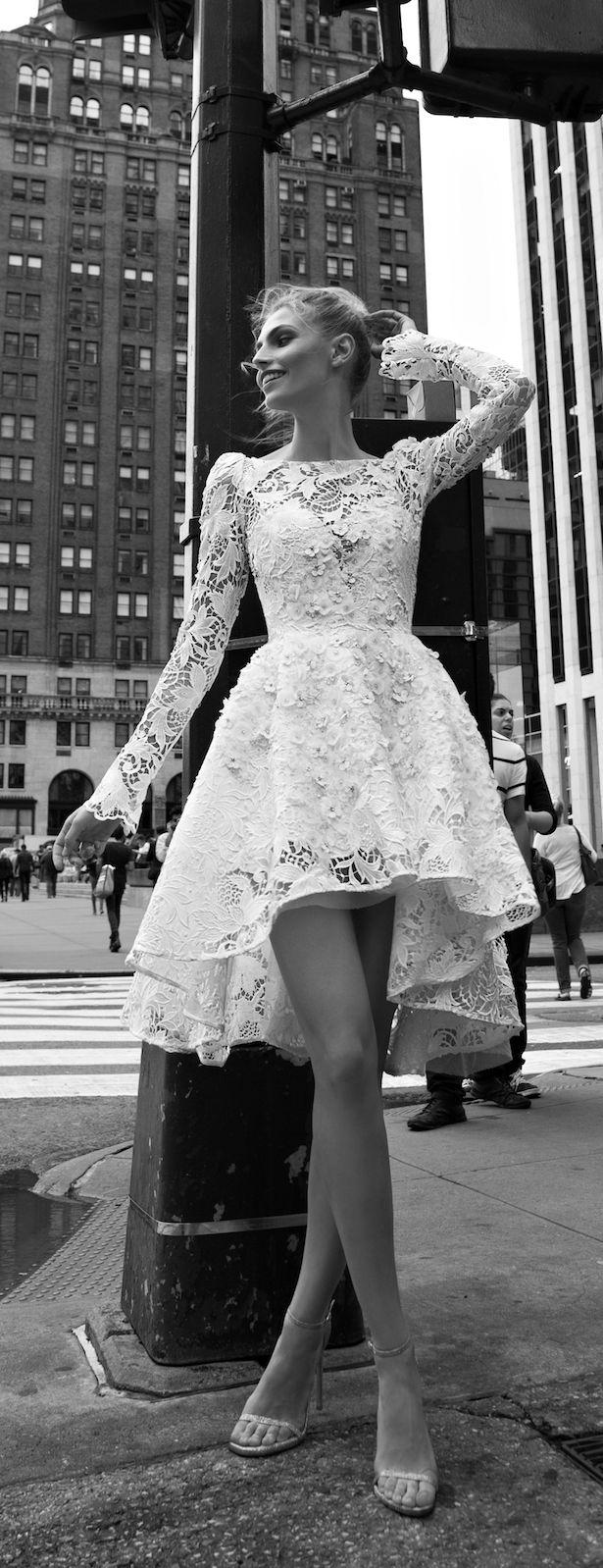 Mini wedding dresses  Inbal Dror  Bridal Collection  Inbal dror Bridal collection