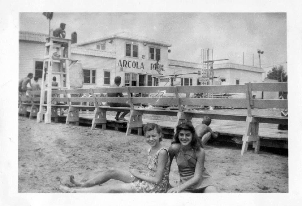 Arcola Pool Rochelle Pk Ca 1945 Bergen County