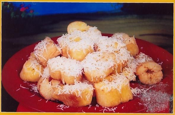 Fried Casava With Cheese Keju