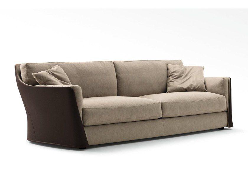 Sofá 2 plazas de tela con funda extraíble Disenos de