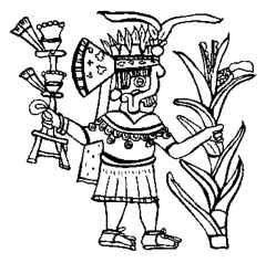 Aztec gods and goddesses crystalinks which god was for Aztec gods coloring pages