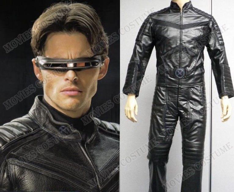 X Men Cyclops Movie Costume Cyclops Aka Scott Summ...