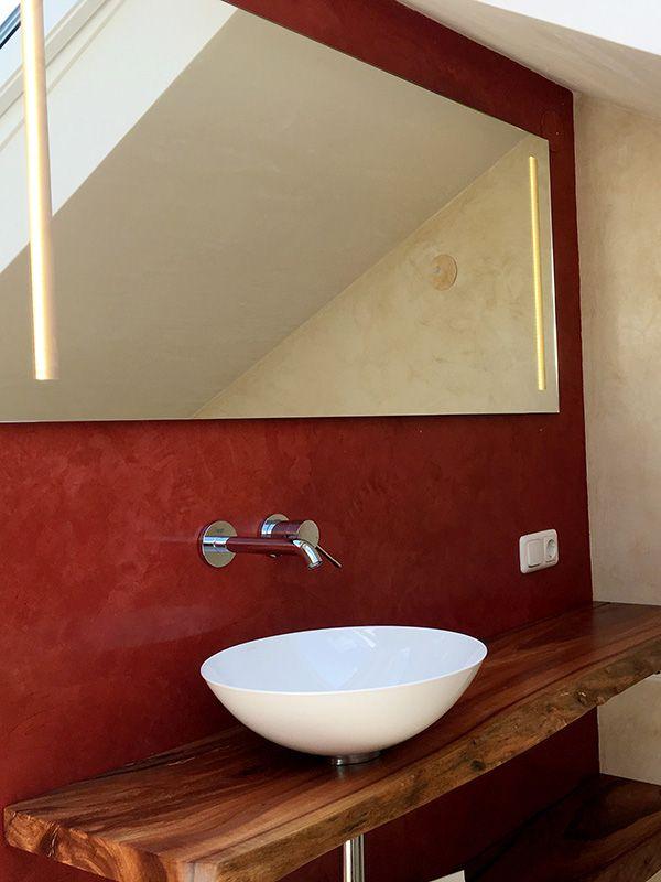 Edle Wande Einfach Selber Gestalten Mit Stucco Veneziano Diyproject Badezimmer Baumaterialien Wohnen
