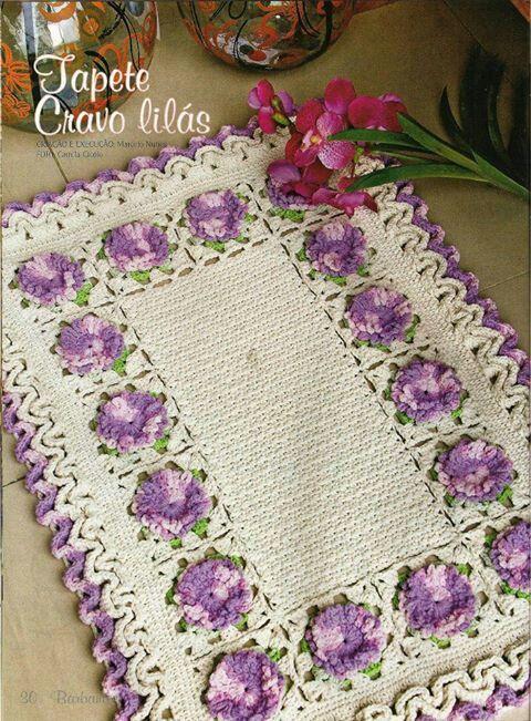 Pin de Cecilia Silva en Crochet | Pinterest