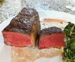 Sous Vide Steak, Niedrigtemperatur-Gegart #grilledsteakmarinades