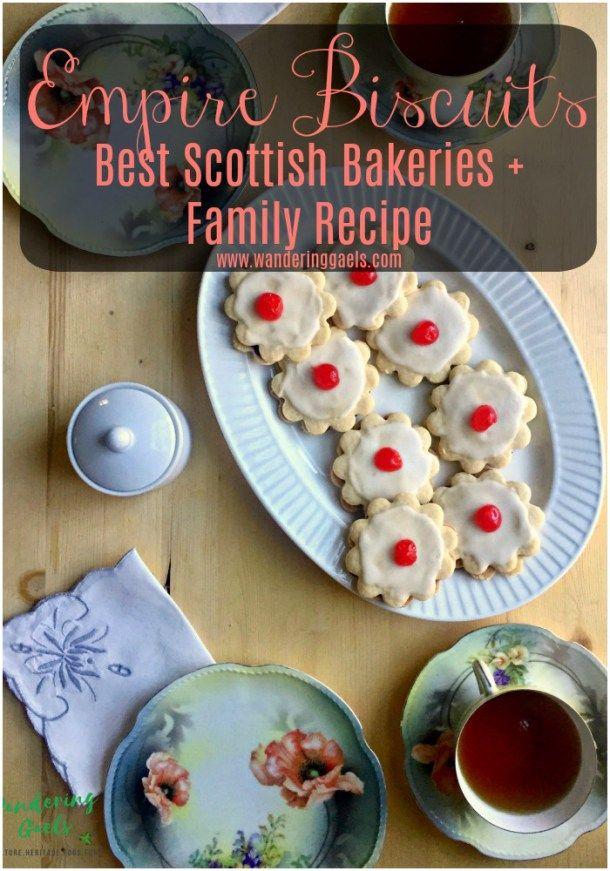 Empire Biscuits Recipe + Best Scottish Bakeries   Foodie Travel in Scotland   Wandering Gaels
