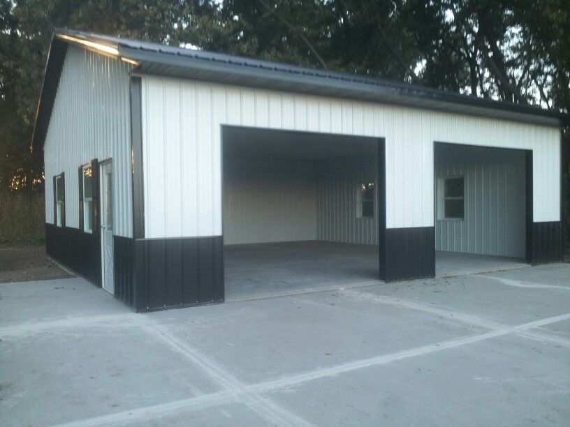 New 32x32 Insulated Shop Garage Built By Tim Fuchs