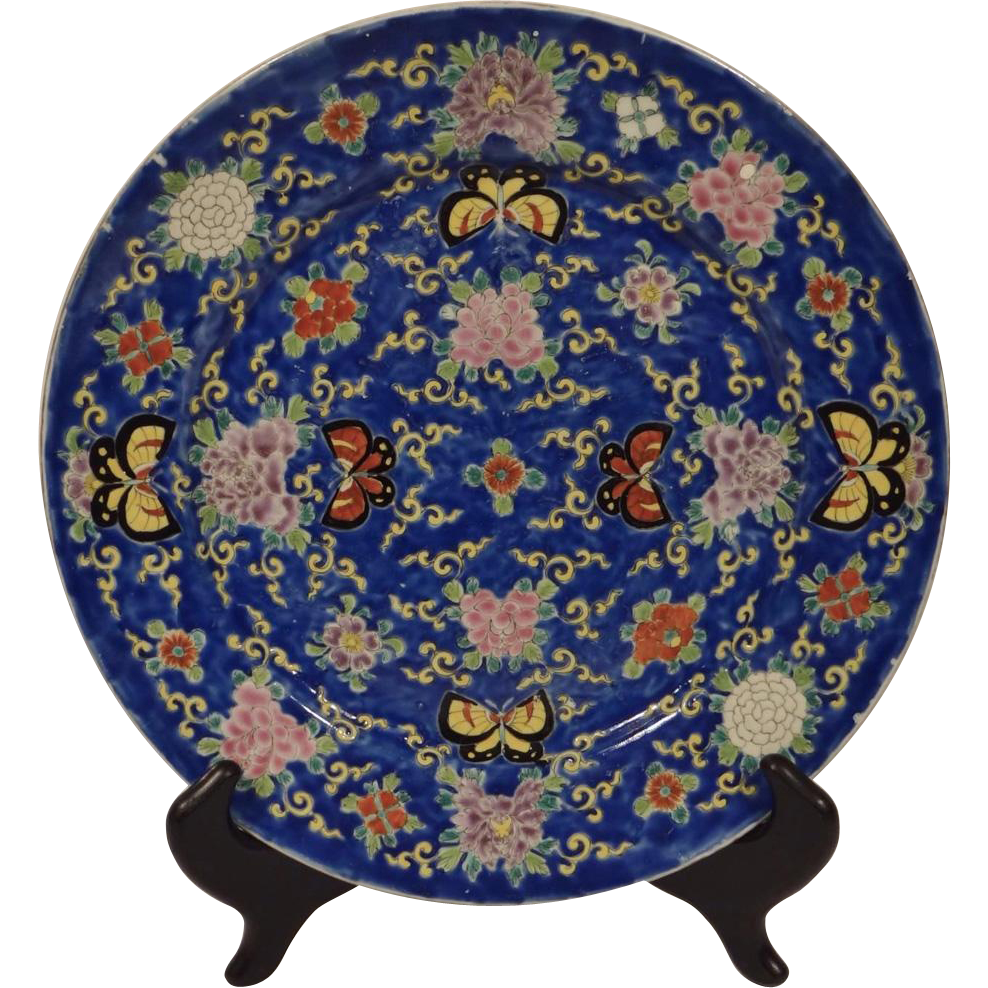 Japanese Antique Arita- ?? Fukagawa Porcelain Enameled Plate Finely Decorated ..Sharing... a very finely decorated antique #Fukagawa porcelain plate ...  sc 1 st  Pinterest & Japanese Antique Arita- Fukagawa tsuk?ru ?????? Porcelain ...