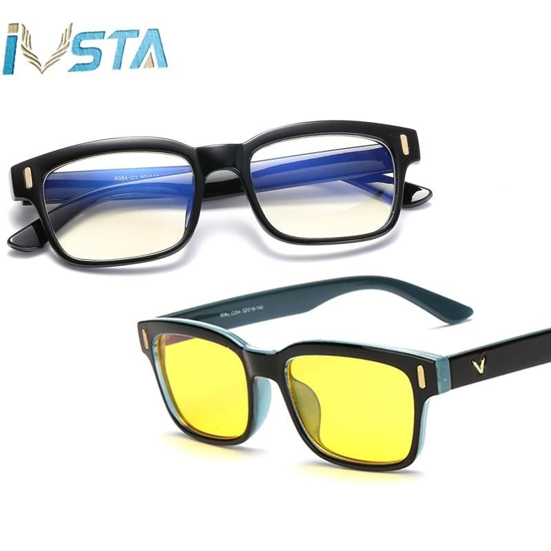 IVSTA Computer Glasses Anti Blue Rays Gaming Glasses Women