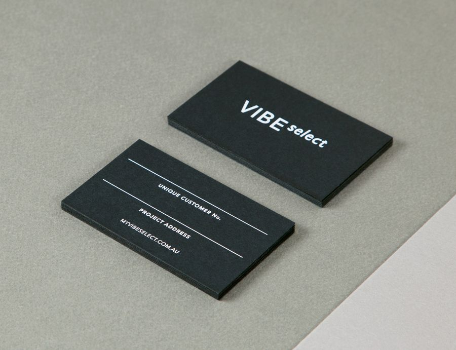 New Brand Identity for Vibe Select by Studio Constantine - BP&O ...