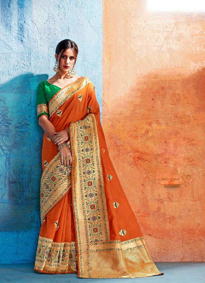 50bbed47a2 Surat Wholesale supplier for rajtex kalawati silk saree catalog ...
