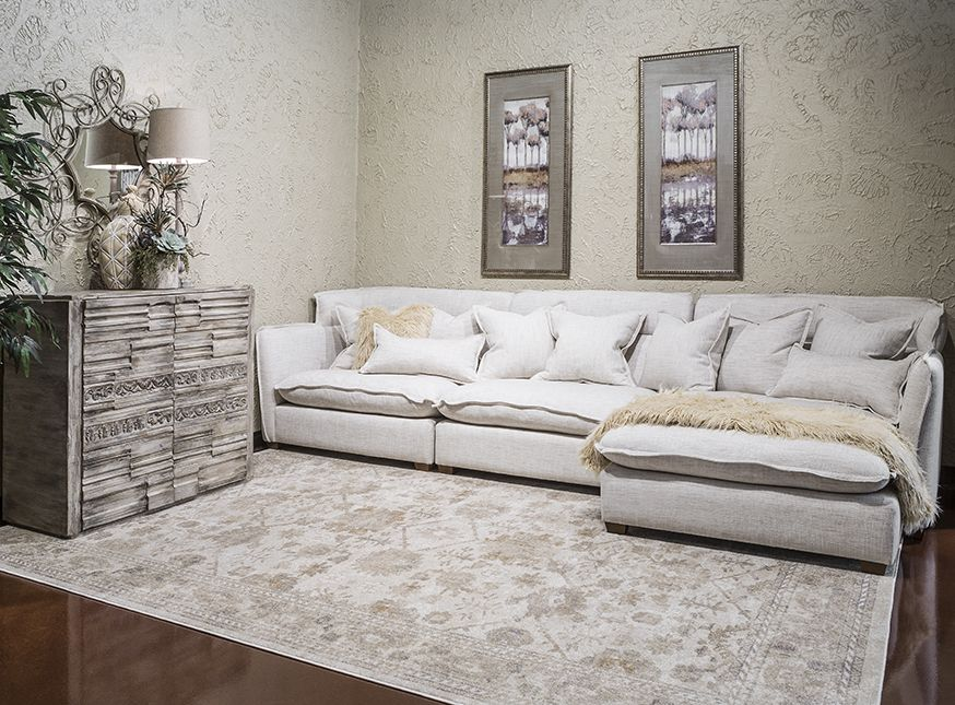 image of leona sectional  living room furniture