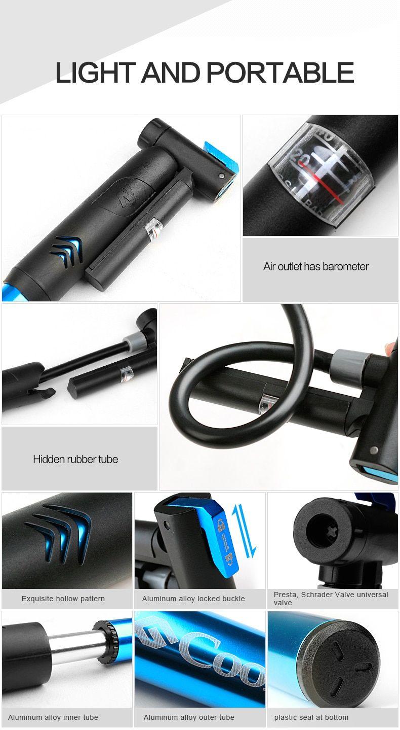 Bontrager air mini bicycle pump