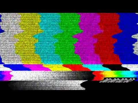 5 seconds of color bars version of television static
