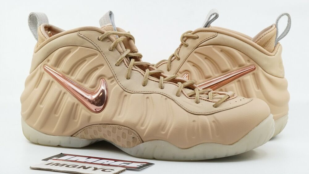 1f617f3c483b NIKE AIR FOAMPOSITE PRO USED SIZE 11 ALL STAR VACHETTA TAN ROSE GOLD 920377  200  shoes  kicks  solecollector