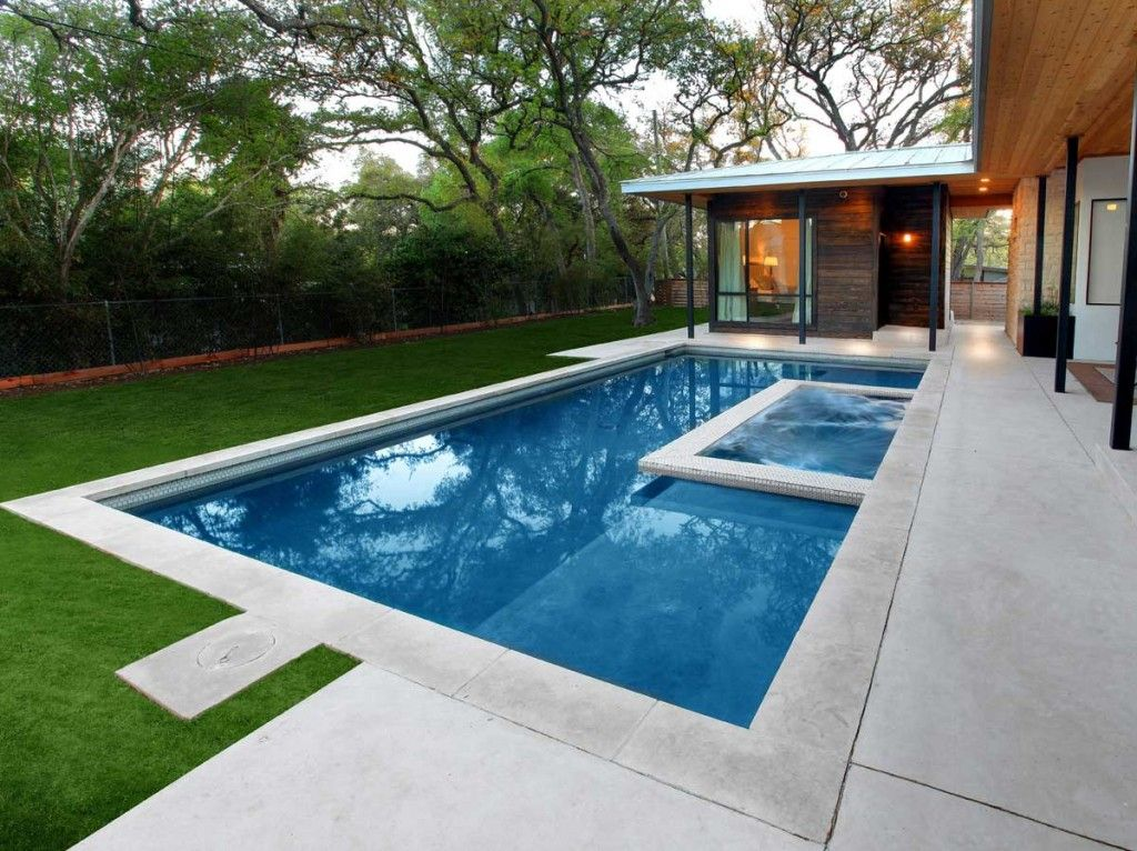 Custom Pool In Austin, Texas Built For Reese Ryan By Designer Pools U0026  Outdoor Living