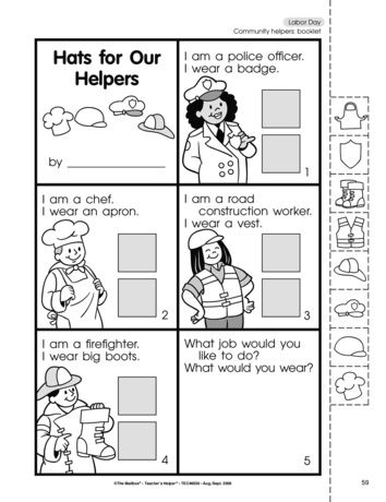 hats for our helpers lesson plans the mailbox community helpers pinterest community. Black Bedroom Furniture Sets. Home Design Ideas