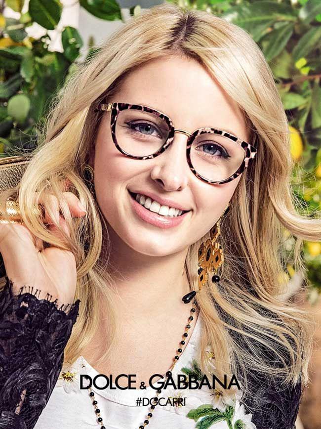 Bien connu Sonia Ben Ammar Stars in Dolce Gabbana SS 2017 Opticals. Photo  AK39