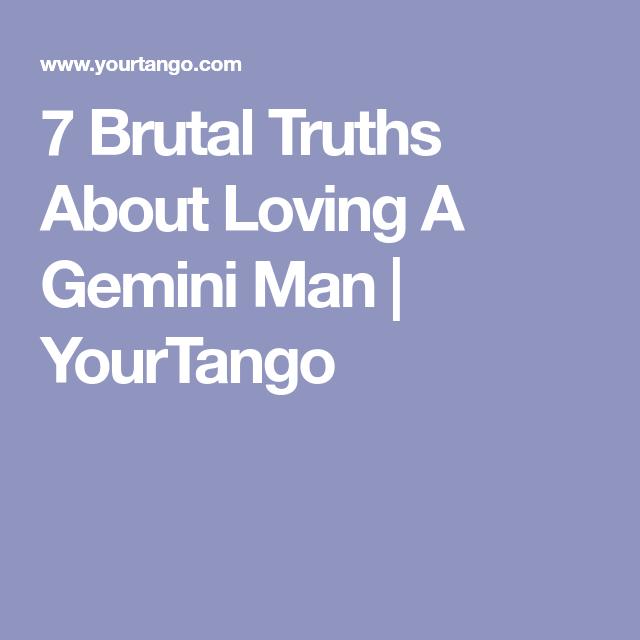 Gemini mann dating