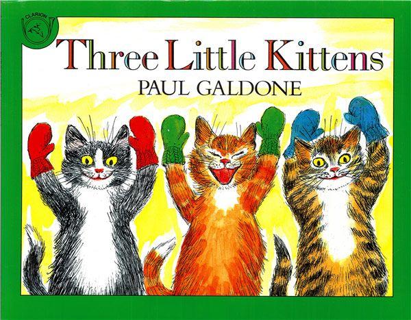 Three Little Kittens Little Kittens Nursery Rhymes Three Little
