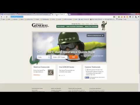 Auto Insurance Quick Quote No Personal Information Required
