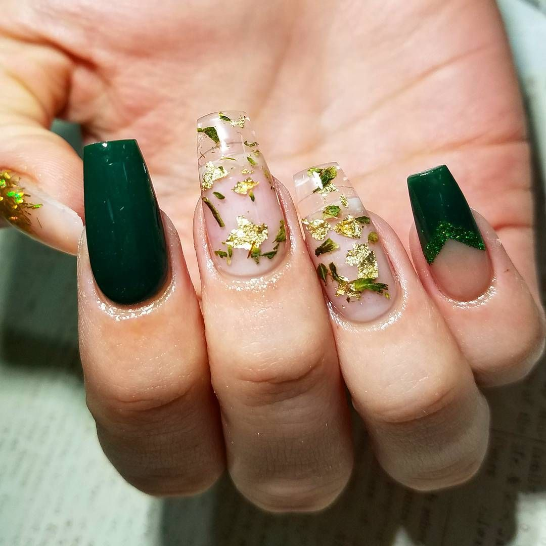 You Need to See These Weed-Laced Manicures Up Close | Pinterest ...