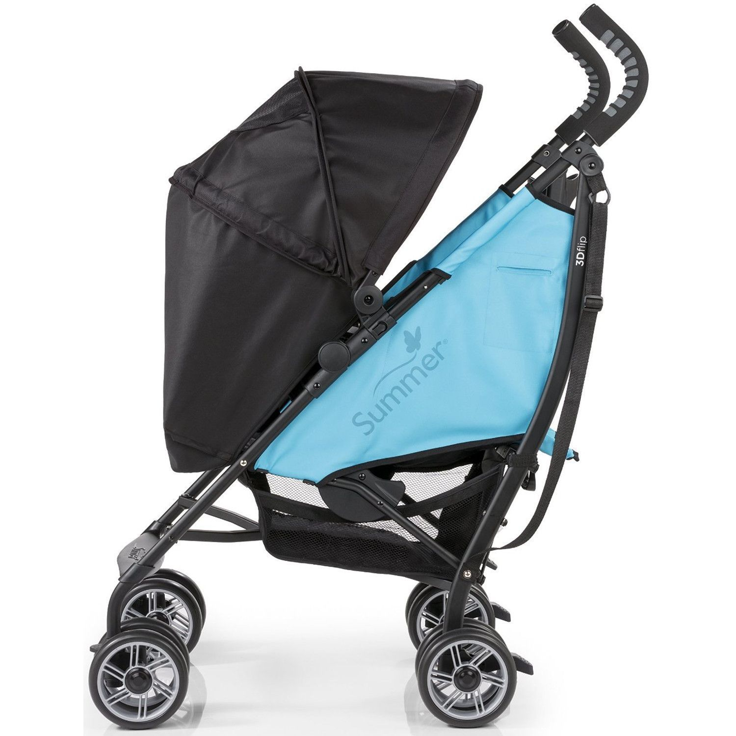 Summer Infant 3D Flip Convenience Stroller, Totally Teal