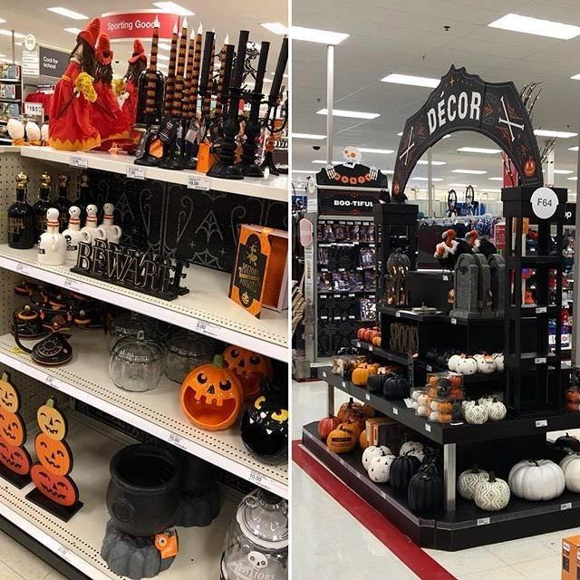 TARGET gets its act together. Halloween has arrived