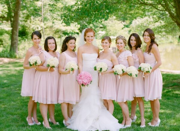 17 Best images about Pale Pink Bridesmaid Dresses on Pinterest ...