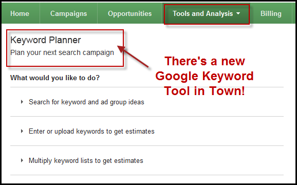 5 Things You Need To Know About Adwords New Keyword Planner Keyword Planner Adwords Keyword Tool