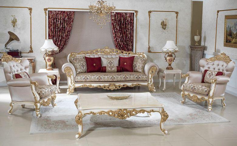 Liberty Klasik Koltuk Takimi Luxury Sofa Living Room Living Room Sets Furniture Sofa Layout