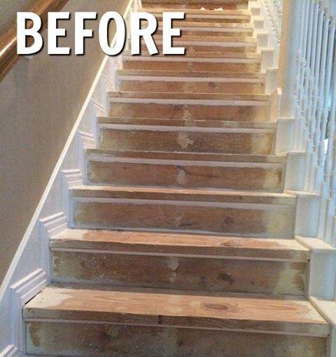 Best Diy Nasty Carpeted Stairs Removal In 2019 Repair 400 x 300