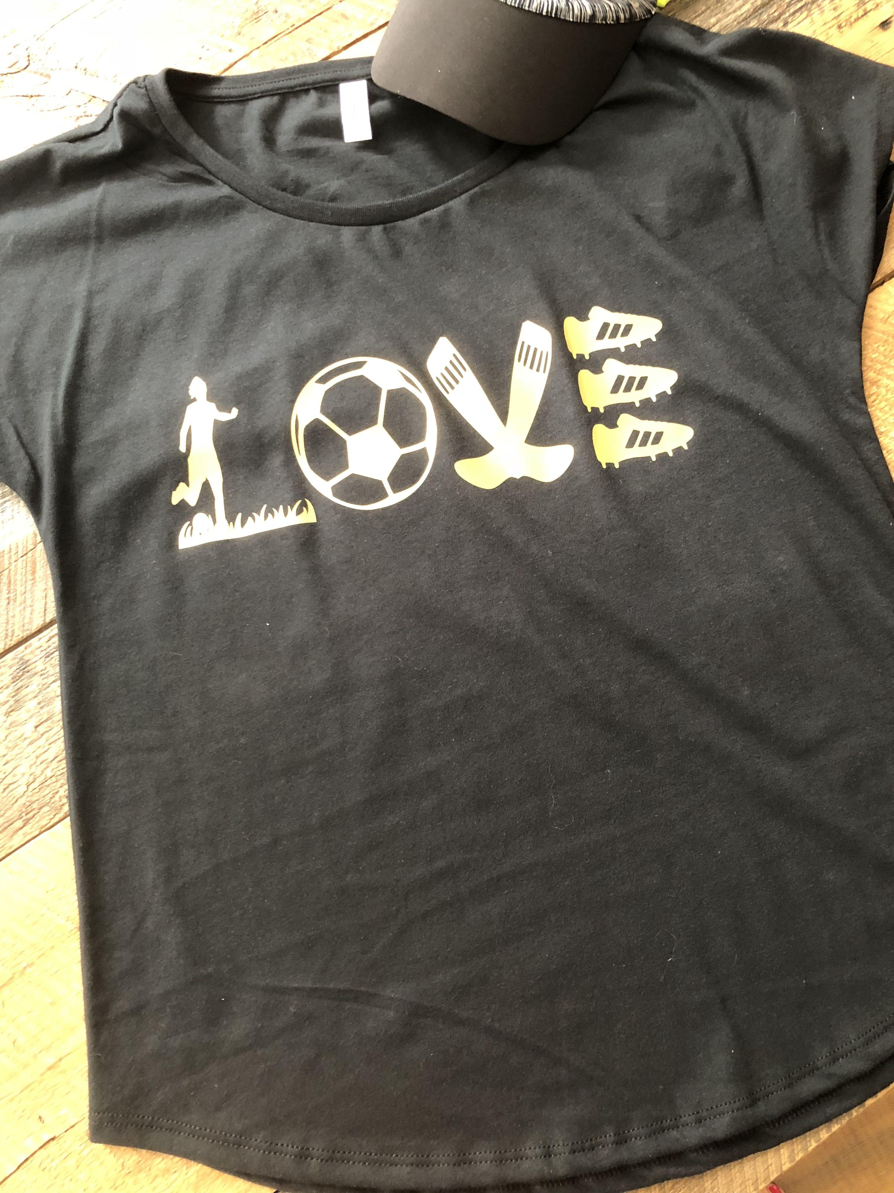 ef0ccb46c Soccer love. Soccer mom. Goals.   Soccer   Soccer outfits, Soccer ...
