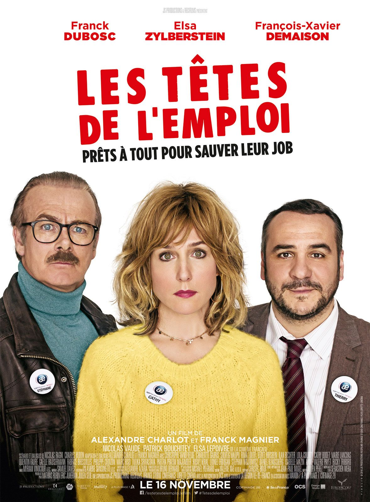 Les Tetes De L Emploi Film Film Comedie Et Cinema
