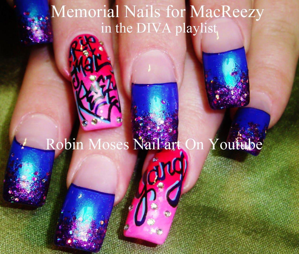 memorial nail art\