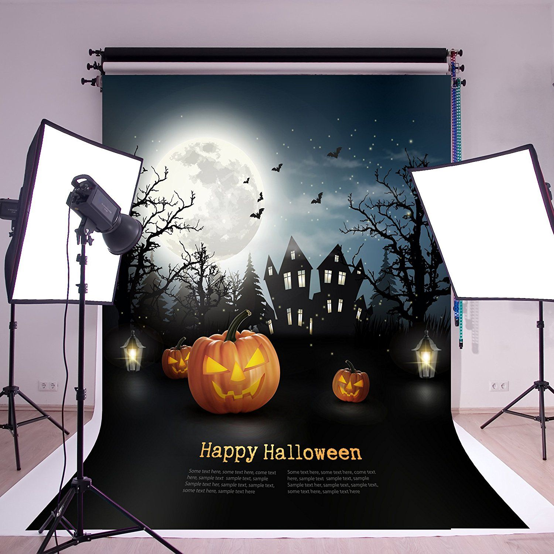 amazon : susu 5x7ft/1.5x2.2m happy halloween photography