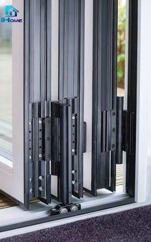 Interior Bifold Design Glass Folding Door For Living Room China Bifold Door En 2020 Puertas Para Terrazas Deslizantes Puertas Corredizas De Vidrio Puertas Plegables