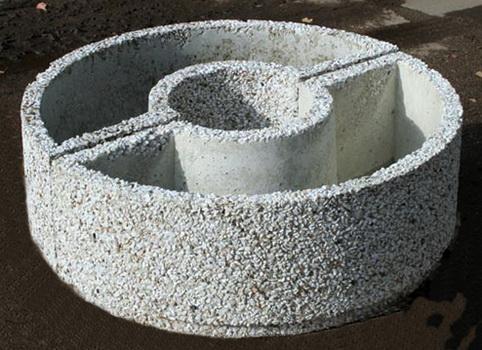 Квадрат из бетона дорожки декоративный бетон