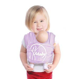 I need this for kay! So when I carry the new baby around she will carry her baby dolls!