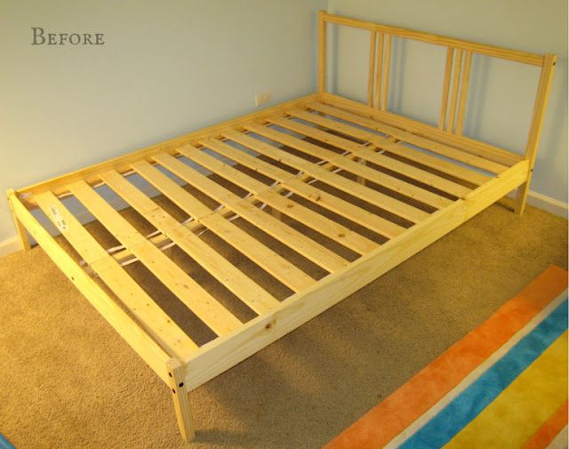Ikea Hack Upholstered Fjellse Ikea Bed Frames Upholstered Beds Bed Frame Hack