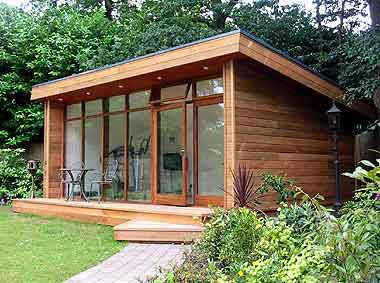 garden sheds nottingham outdoor log cabin specialists the conversion company provide practical garden offices studios gyms or leisure rooms